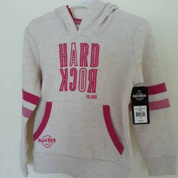 Hard Rock Cafe Other - Hard Rock girls hoodie NWT